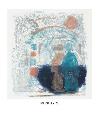 monotype monoprint